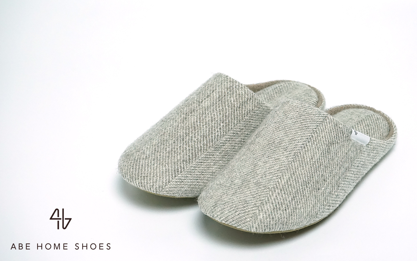 ABE HOME SHOES 阿部産業 ウールホームシューズ ウールスリッパ