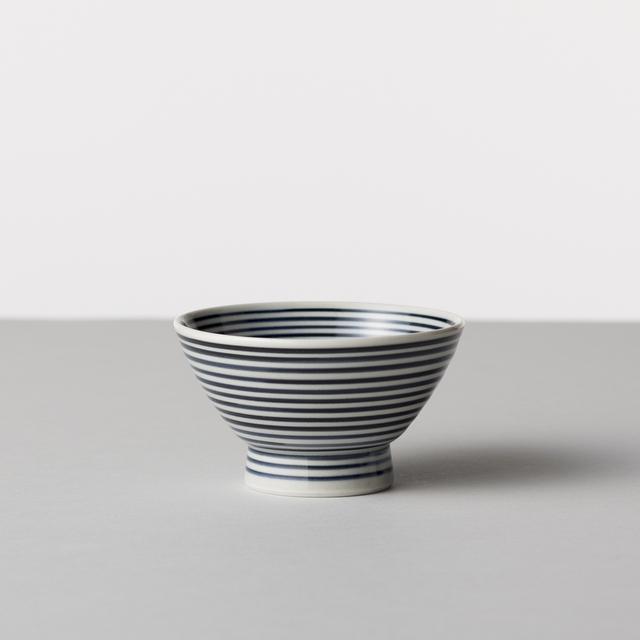 藍駒 茶碗