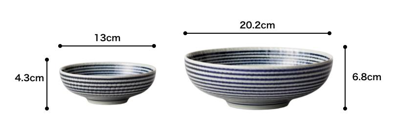 BAR BAR(馬場商店) 藍駒 鉢