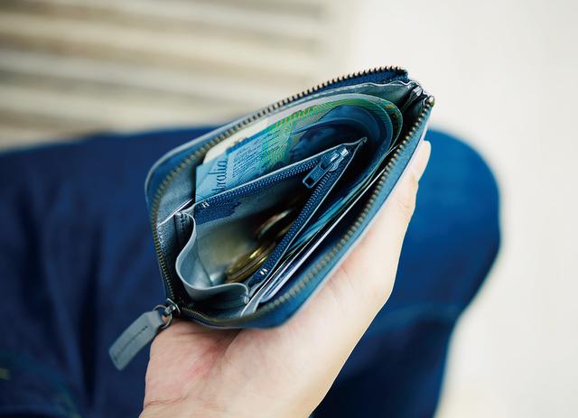 日本いいもの屋 hmny コンパクト財布
