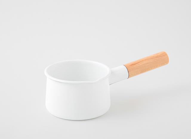 琺瑯のミルクパン kaico 出産祝い