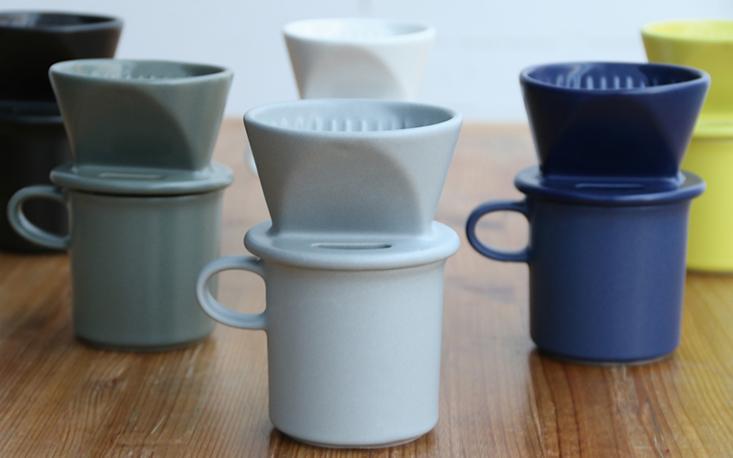 かもしか道具店 陶器のコーヒードリッパー