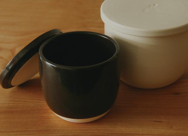 かもしか道具店 陶の飯びつ(おひつ)