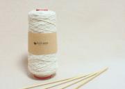 ガラ紡糸 木玉毛織
