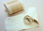ガラ紡のお肌洗い 木玉毛織