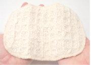 ガラ紡のお顔洗い 木玉毛織