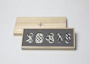 能作  曲がる箸置き「結び」 引出物 日本いいもの屋