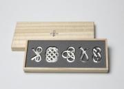 能作  曲がる箸置き「結び」 結婚祝い 日本いいもの屋