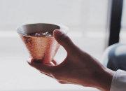 織田幸銅器 銅製のアイスコーヒーカップ 定年退職 還暦のお祝い  日本いいもの屋