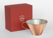 銅製のアイスコーヒーカップ