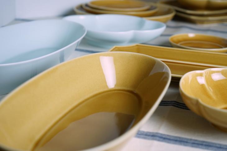 瑞々 楕円鉢
