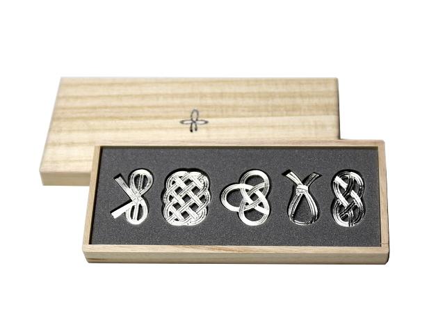曲げる箸置 「結び」 能作 栄転 昇進のお祝い 日本いいもの屋