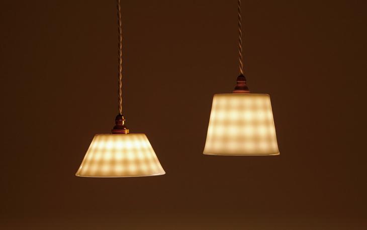 白磁ランプ 小田陶器 topイメージ