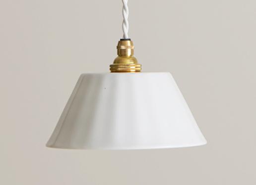 白磁ランプ 織田陶器