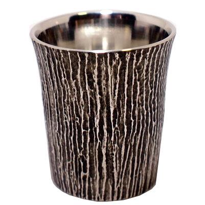 錫製のぐい呑み 大阪錫器 松風