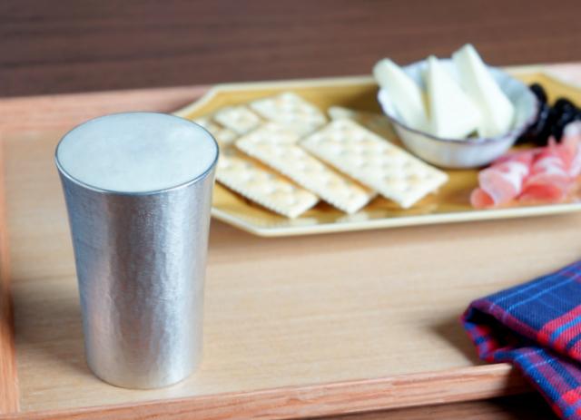 日本いいもの屋 大阪錫器 錫製のタンブラー