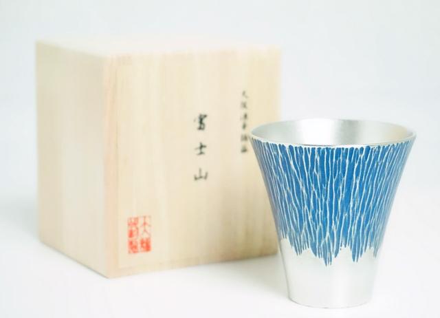錫製のタンブラー 大阪錫器