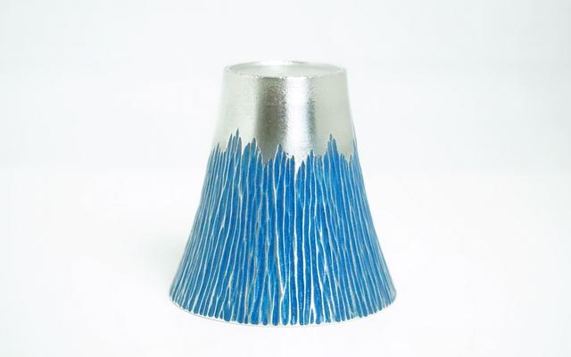 大阪錫器 錫製のタンブラー 富士山 ぐい呑