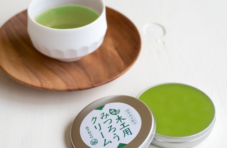 緑茶入りみつろうクリームトップイメージ