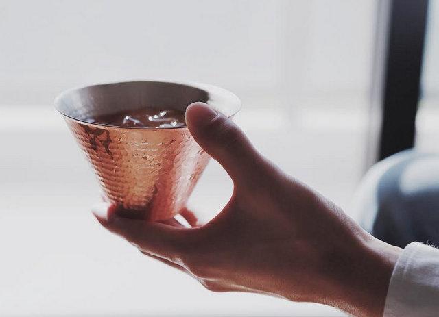 女性への贈り物 織田幸銅器 銅製のモスコミュールカップ 女性へのプレゼント 日本いいもの屋
