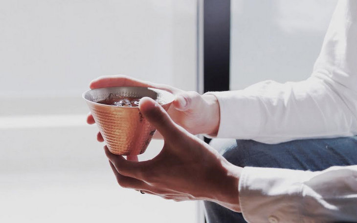 RED&WHITE アイスコーヒーカップ