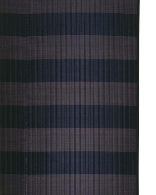 掛川織のラグ ピアストール グレー