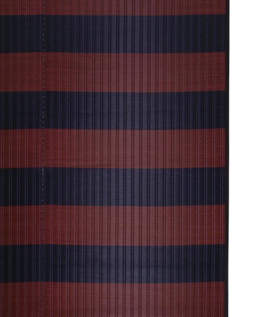 掛川織のラグ ピアストール ブラウン