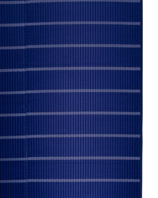 掛川織のラグ ピアスモール ブルー