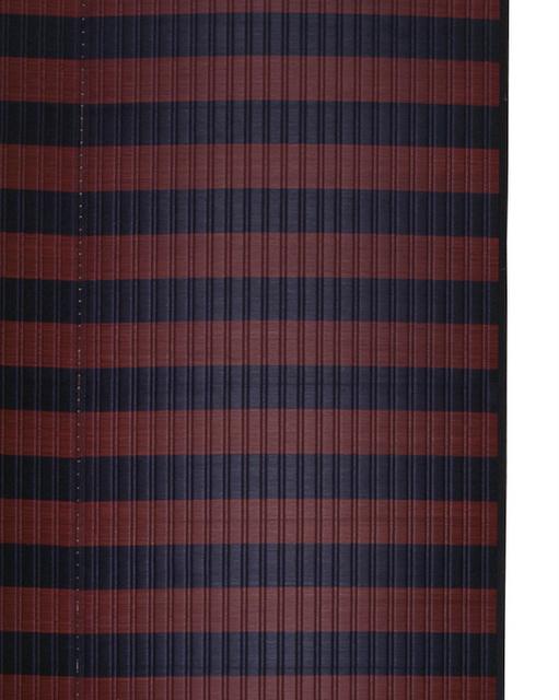 掛川織のラグ ピアスミット ブラウン