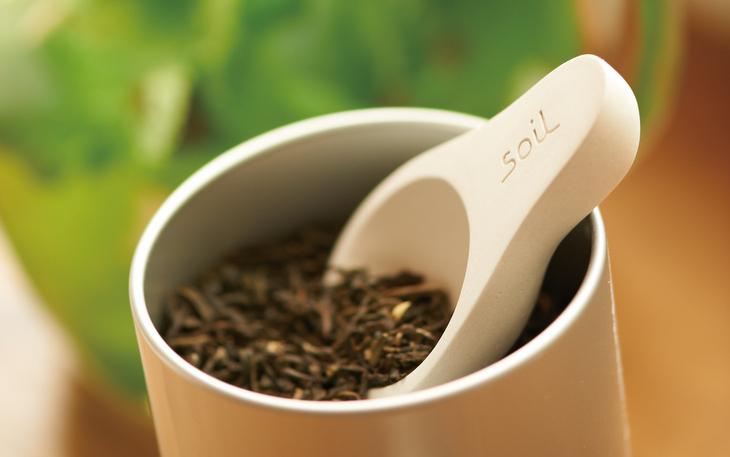 珪藻土の茶さじ
