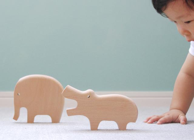 木製玩具 &Learn | どうぶつシリーズ
