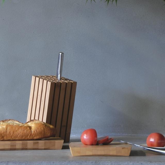 TEORI 竹製のナイフスタンド 「スプリット」