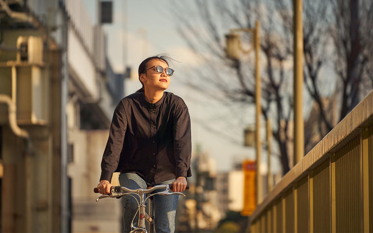 tesio 日本人のためのサングラス ARCH tokyobikeコラボモデル
